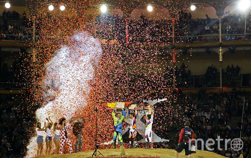 "Участники соревнований Red Bull X-Fighters 2017. Фото Маргарита Лемешко, ""Metro"""