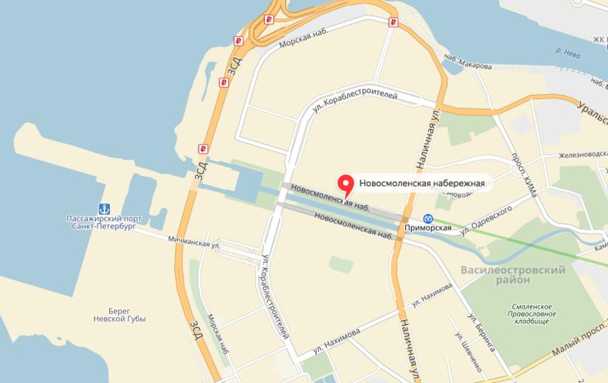 В Петербурге задержали официантку, которая хотела получить дорогую квартиру умершей. Фото скриншот Яндекс.Карты