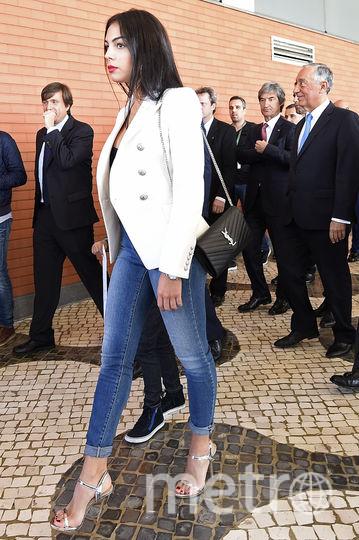 Девушка Роналду, испанская модель Джорджина Родригес. Фото Getty