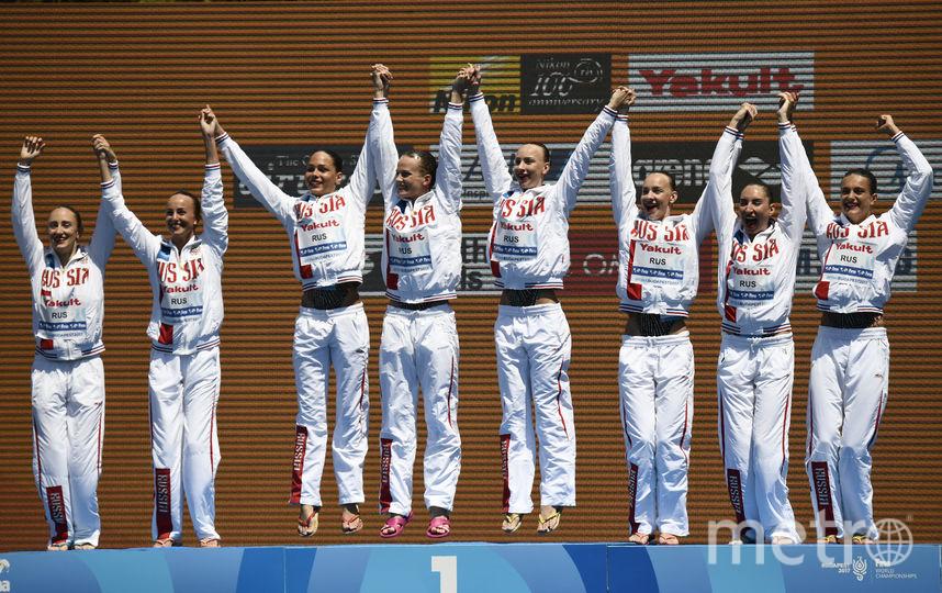 Российские синхронистки много лет остаются на вершине. Фото AFP
