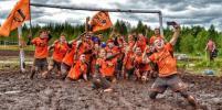 Российские футболисты стали лучшими на болоте