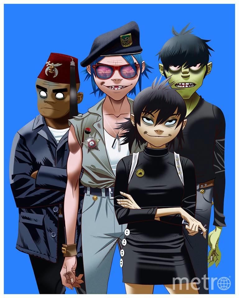 Gorillaz. Фото COURTESY