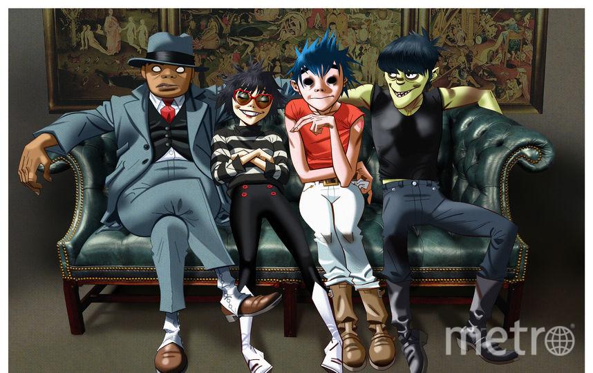Группа Gorillaz. Фото COURTESY