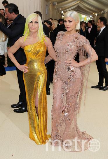 Кайли Дженнер и Донателла Версаче. Фото Getty