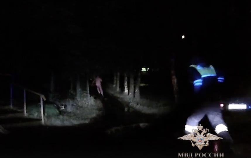 17-летний подросток в Москве устроил гонки с полицией: видео. Фото vk.com