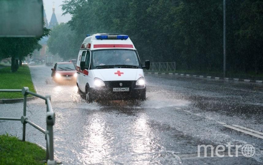 Столичная скорая помощь. Фото РИА Новости