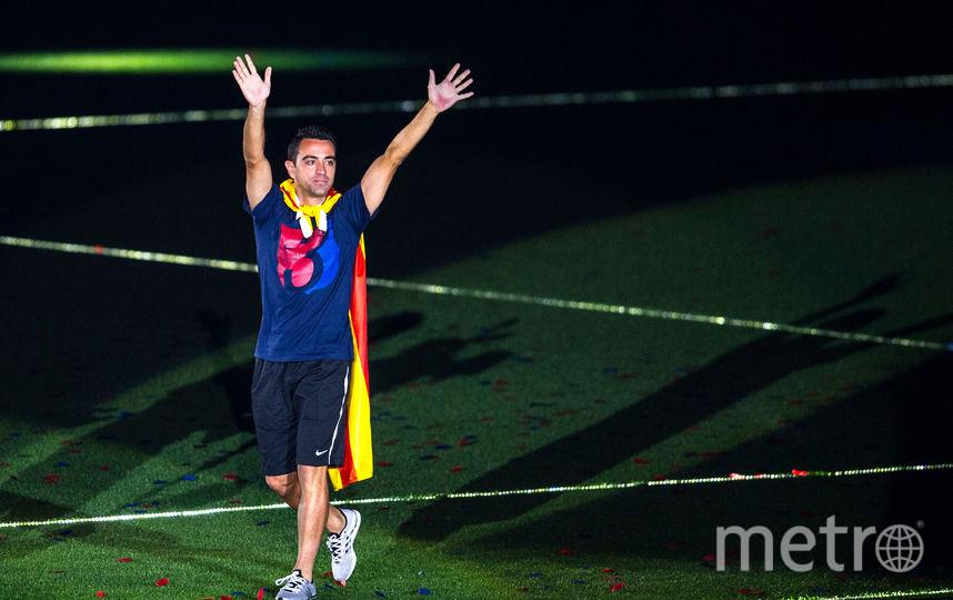 Легенда испанского футбола Хави. Фото Getty