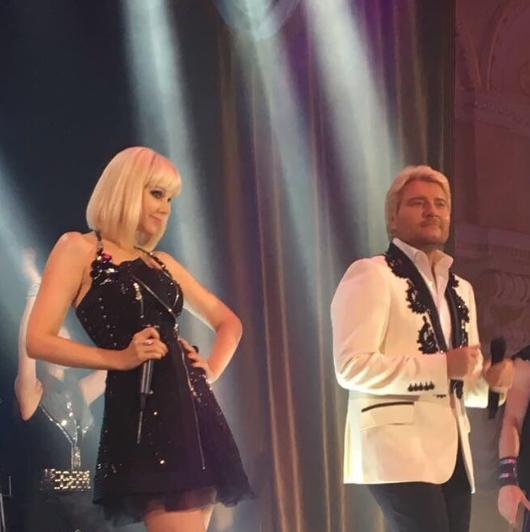 Певица Натали с Наколаем Басковым. Фото Instagram Натали