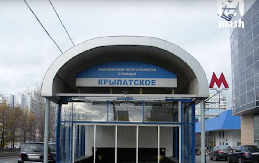 В Москве задержали маньяка, облизавшего фитоняшку у метро. Фото vk.com/mash.