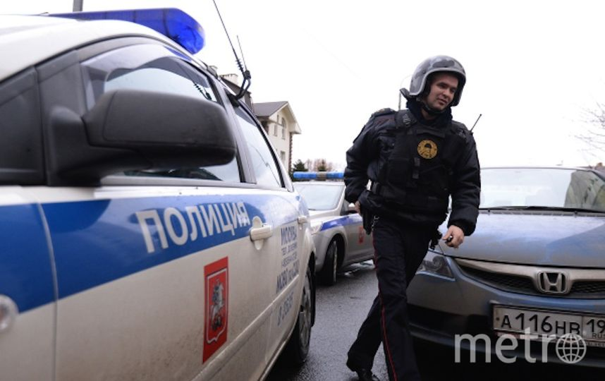 В офисном здании на востоке Москвы обнаружили гранатомёт, взрывчатку и ружья. Фото РИА Новости