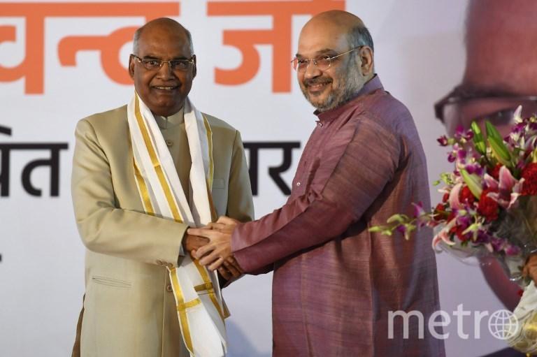 Новый президент Индии Рам Натх Ковинд. Фото AFP