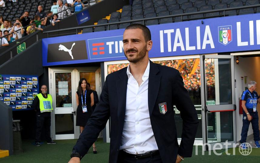Защитник сборной Италии Леонардо Бонуччи. Фото Getty