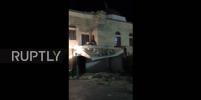При землетрясении в Эгейском море обрушился минарет на острове Кос