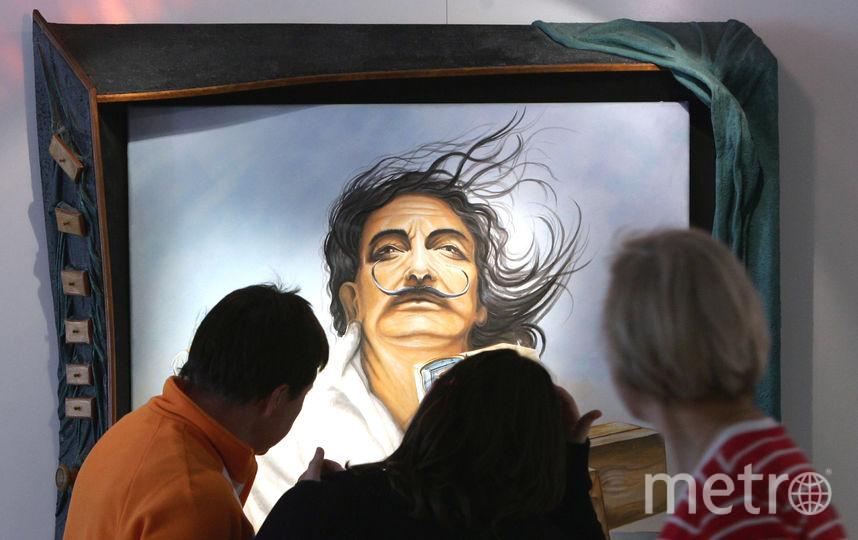 Усы Сальвадора Дали сохранили свою форму после эксгумации. Фото Getty