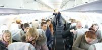 Пассажир устроил драку на рейсе из Москвы в Анапу
