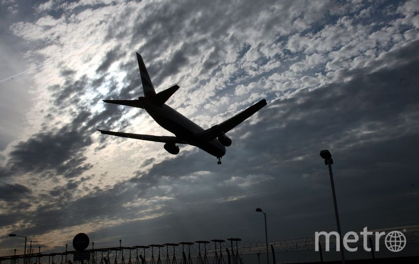 Самолёт осуществляет посадку. Фото Getty