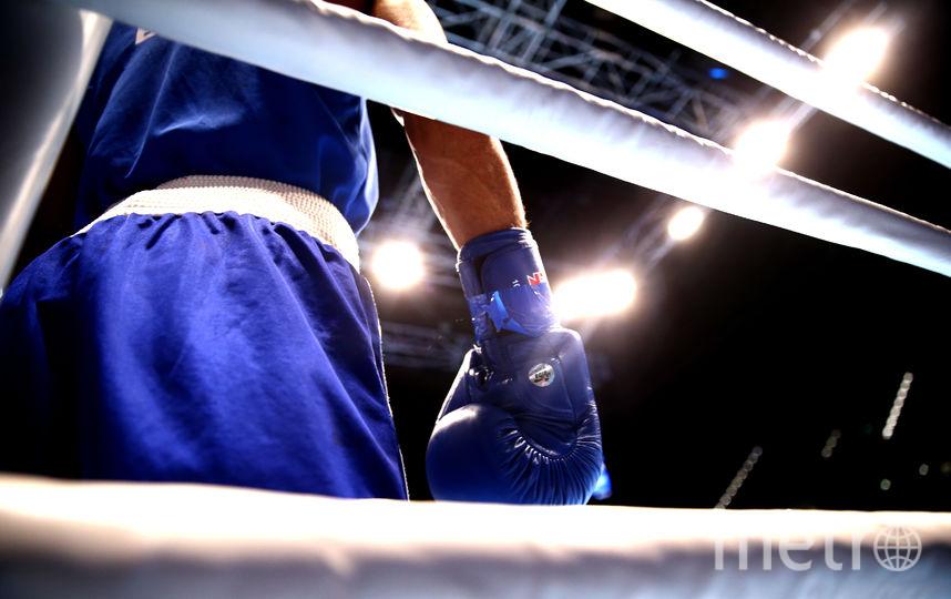 Боксёрский ринг. Фото Getty