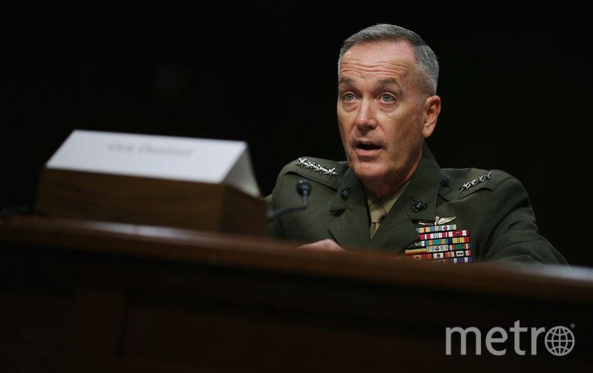 Председатель Объединённого комитета начальников штабов (ОКНШ) Вооружённых сил США генерал Джозеф Данфорд. Фото Getty