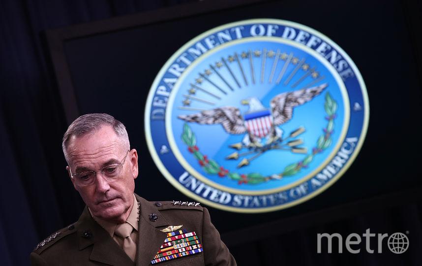 в штабов (ОКНШ) Вооружённых сил США генерал Джозеф Данфорд. Фото Getty