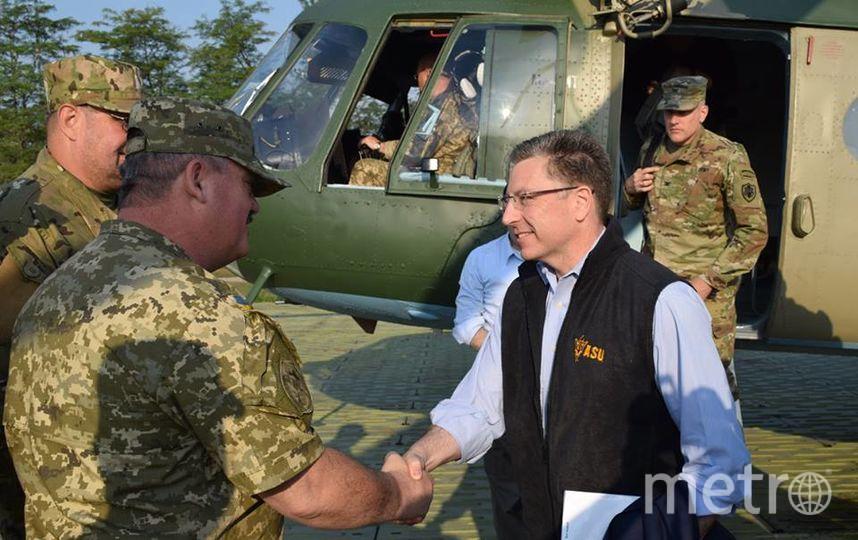 Посол США и спецпредставитель Госдепа прибыли на восток Украины. Фото Пресс-центр штаба АТО | facebook.com/ato.news