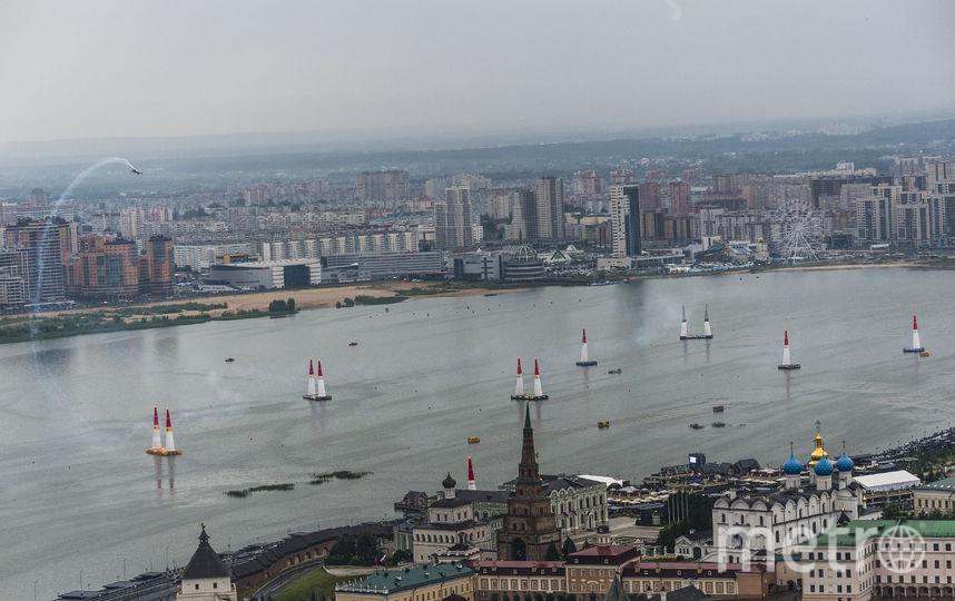 Трасса Red Bull Air Race в Казани. Фото www.redbullcontentpool.com