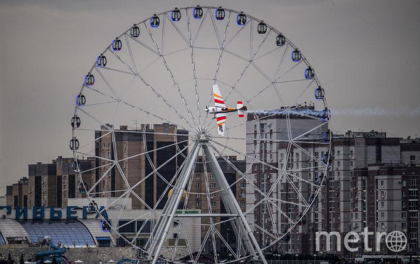 Казань приняла первый в России этап Red Bull Air Race. Фото www.redbullcontentpool.com