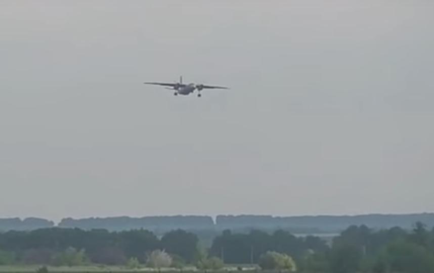 Видео крушения Ан-26 под Саратовом. Фото White-Avia, Скриншот Youtube
