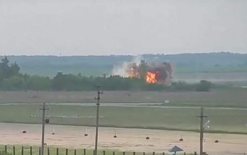 Размещено видео катастрофы АН-26 под Саратовым