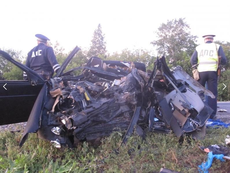Четыре человека погибли в ДТП в Ишимском районе. Фото МВД России по Тюменской области