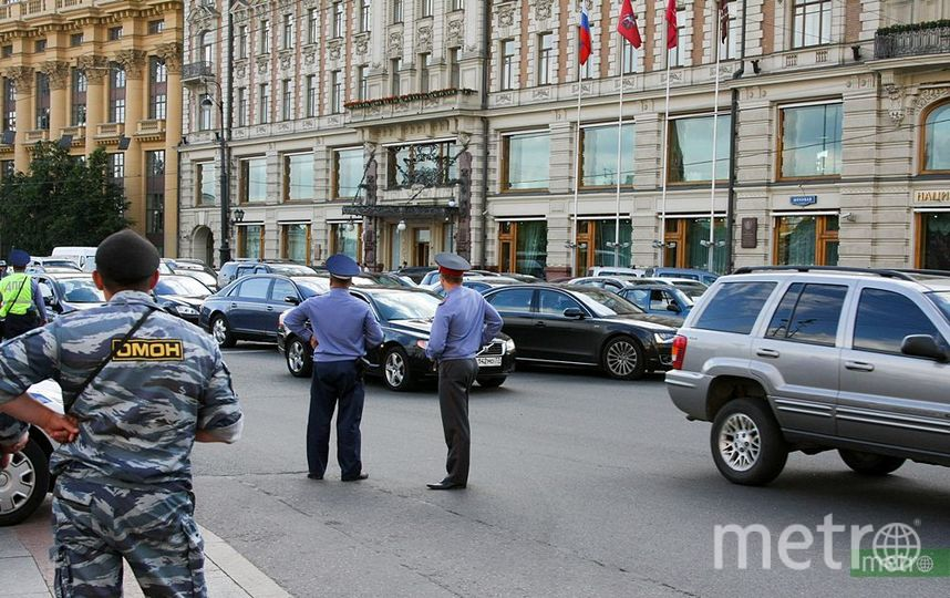 """Сотрудник ФСИН выпал из окна 17-го этажа здания Минюста в Москве и погиб. Фото Василий Кузьмичёнок, """"Metro"""""""