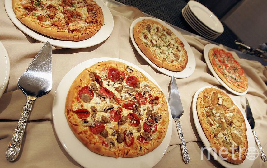 Пицца. Фото Getty