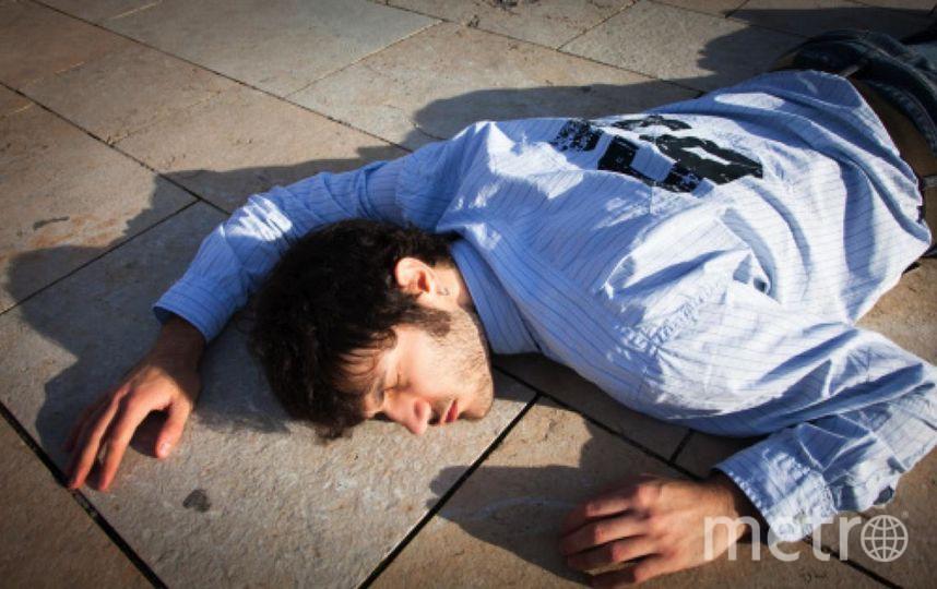 В Петербурге нашли лежащего без сознания помощника прокурора. Фото Getty