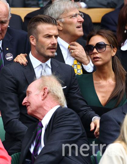 СМИ: Дэвид Бекхэм сбежал от жены. Фото Getty