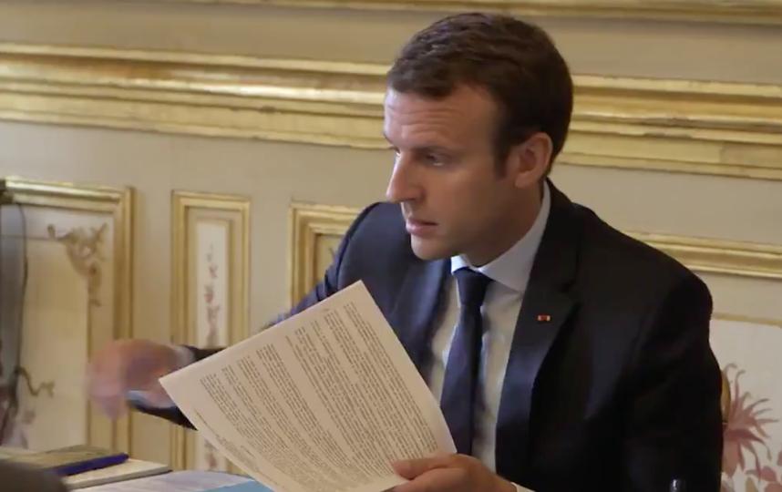 Президент Франции Эммануэль Макрон. Фото twitter.com/EmmanuelMacron