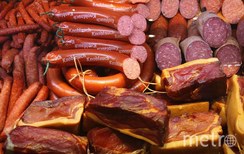 Мясные изделия. Фото Getty