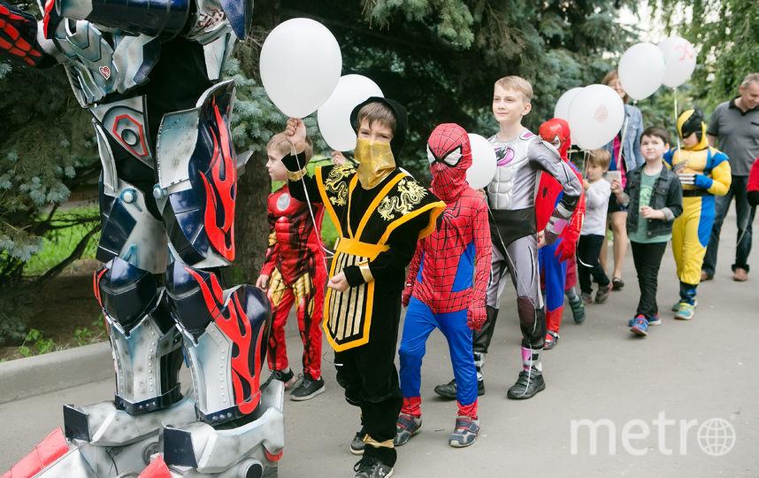 Суперпарад героев. Фото Наталья Мущинкина