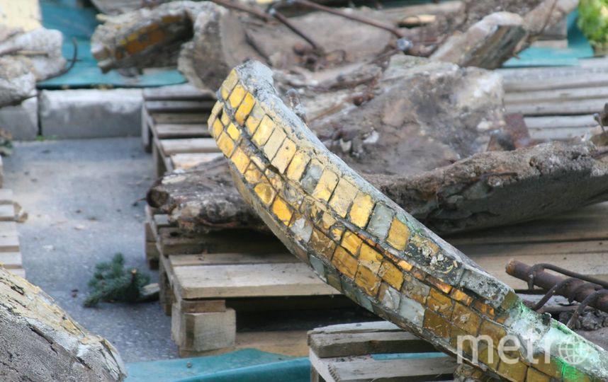 """В нижней части фотографии видны части """"Золотого колоса"""". Фото Федот Пухлов, """"Metro"""""""