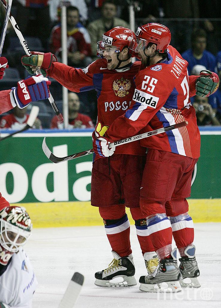 Данис Зарипов и Сергей Фёдоров. Фото Getty