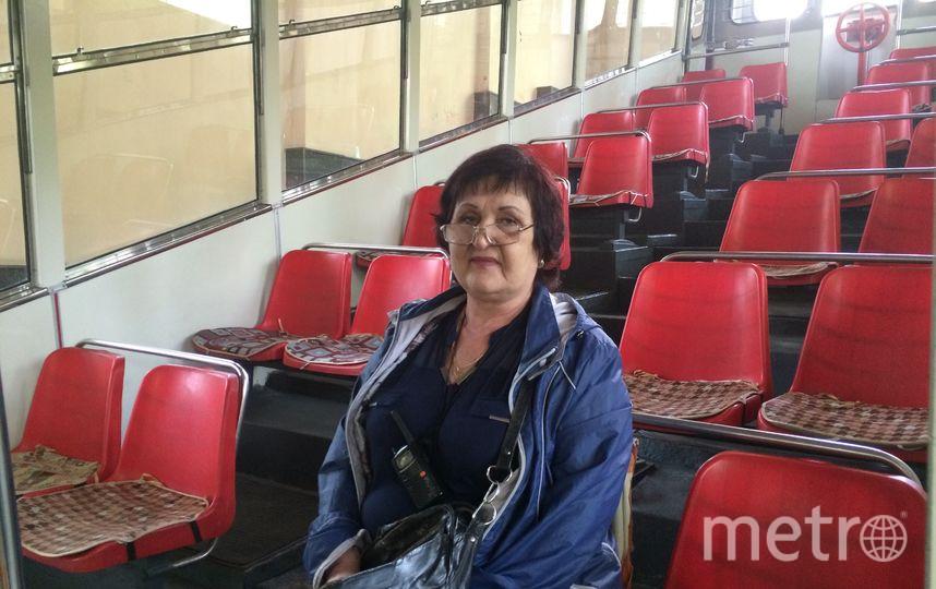 Наталья переживает, что сейчас на фуникулёре стало меньше пассажиров. Фото Зинаида Мишина