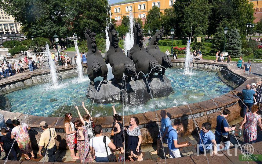 """34 градуса жары ожидается в Москве на неделе. Фото Василий Кузьмичёнок, """"Metro"""""""