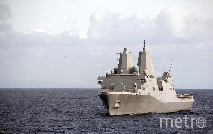 Корабль ВМС США. Фото Getty