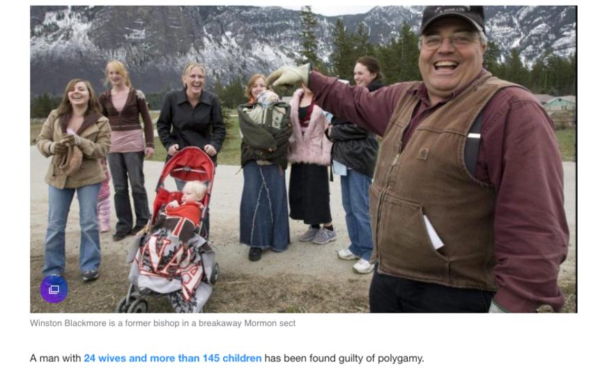 В Канаде судят отца 145 детей. Фото Скриншот uk.news.yahoo.com