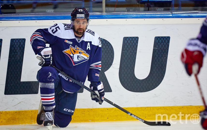 В 2017-м году Зарипов дошёл до финала КХЛ. Фото Александр Коваль | photo.khl.ru