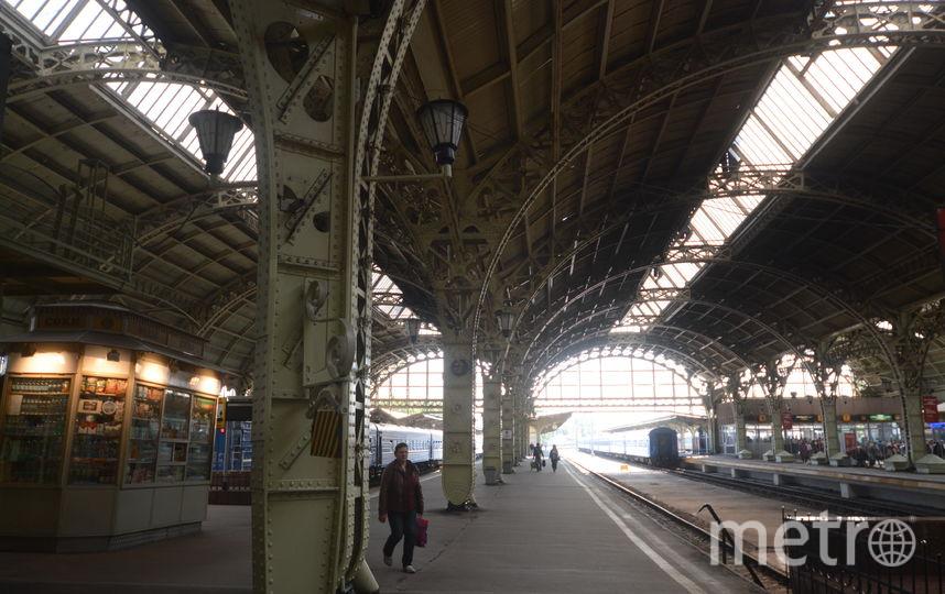 Витебский вокзал - фотоархив.
