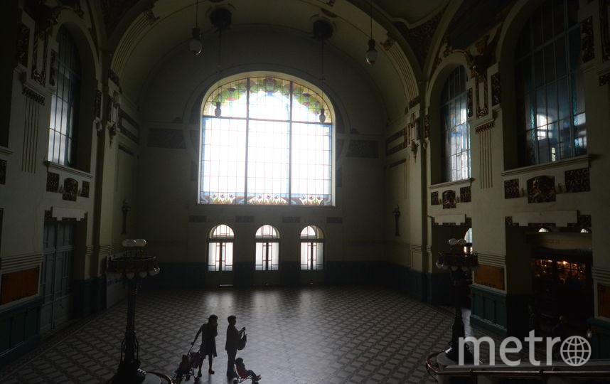Витебский вокзал - реставрационные работы.