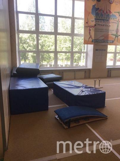 Так выглядит нынешний зал для акробатов в Нефтеюганске. Фото предоставила Мария Зубарева