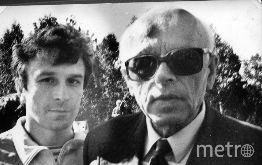 В 1989 году на Золотую гору приезжал Сахаров. Фото из архива В. Филичкина.