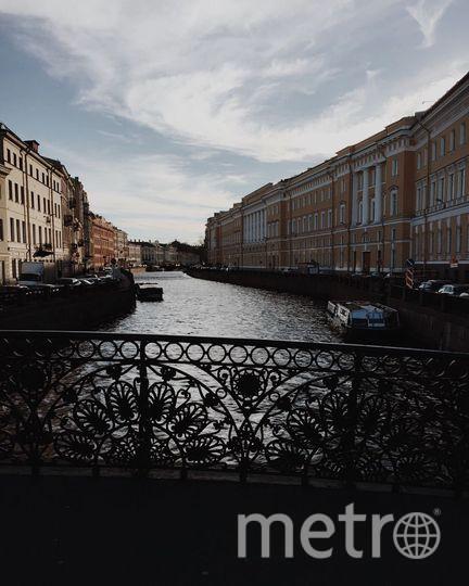 Рэйф Файнс поделился видом Петербурга в своём аккаунте в Instagram.