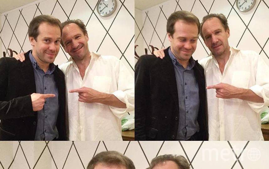 С Алексеем Морозовым. Фото instagram.com/morozzzofff