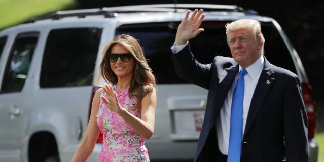 Мелания Трамп покорила модных критиков летним образом